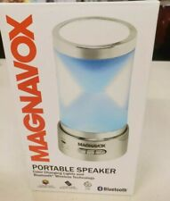 MAGNAVOX PORTABLE BLUETOOTH SPEAKER w/ REMOTE COLOR CHANGING LIGHTS