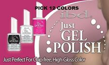 IBD Just Gel Polish Nail Soak off Colors CHOOSE 12 COLORS SET 0.5 oz