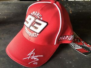 NEW KIDS YOUTH OFFICIAL MOTOGP WORLD CHAMPION MARC MARQUEZ #93 RED RIDER HAT CAP