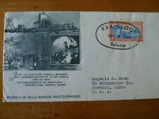 BAHAMAS 1940 SEA FLOOR COVER WILLIAMSON UNDERWATER EXPEDITION