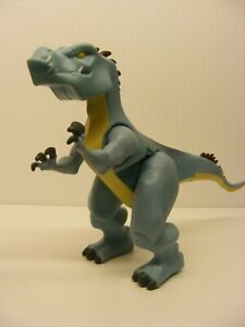 Fisher Price Imaginext dino blue horned raptor ALOSAURIO 6in. action figure
