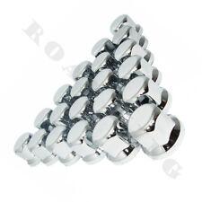 60x 32 mm Radmutterkappen Chrom Radmutterabdeckung Radmutterschutz Kappe LKW