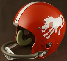 DENVER BRONCOS 1962-1965 NFL Authentic THROWBACK Football Helmet