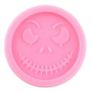 Jack Skellington Nightmare Before Christmas Silicone Mold Resin Clay Jewelry D30