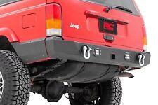 Jeep Cherokee XJ Rear LED Bumper w/ Lower Quarter Panel Armor 97-01