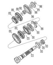 Genuine Mopar Input Shaft Bearing 5013634AB