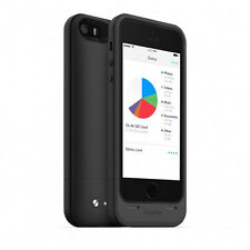 mophie Space Pack Battery Case With 32 GB Storage Black For iPhone 5 s 5