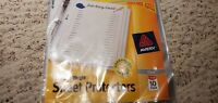 24 clear sheet protectors by Avery New sealed bag free shipping
