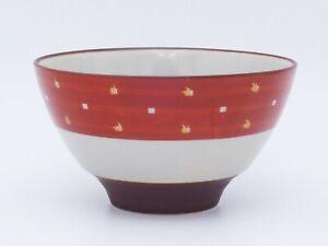 Pro Japanese Rice Bowl TOMITALIA  MILMIL Series Burning Windows Japan made