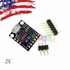 2X PCS Digispark Kickstarter Attiny85 USB Development Board for arduino