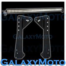 "50"" 100x LED 300w LIGHT BAR Off Road 4x4 Combo Beam+Steel Cab Mounting Bracket"
