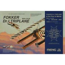 Meng Qs-003s 1/24 Fokker Dr I Triplane and Blue Max Medal Limited Edition* BRAND