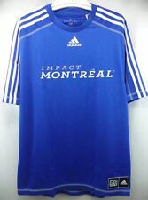 NWT MLS MONTREAL IMPACT CLIMALITE PRE-GAME TRAINING REPLICA JERSEY Large