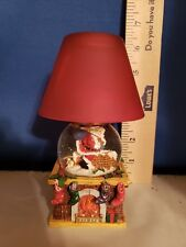 Votive Holder and Water Globe Santa on Roof Top Glass Shade 49002 309