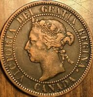 1900 CANADA LARGE CENT PENNY LARGE 1 CENT COIN