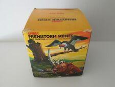 Aurora Tar Pit Prehistoric Scenes Model Kit Box Only 1971