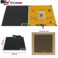 US Anycubic Ultrabase 220x220mm 3D Printer Platform Heated Bed Build Glass Plate