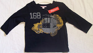 STYLEFIELD by GUMBOOTS BLUE SF TRAM T-SHIRT SIZE 5 KIDS BOYS GIRLS CHILDRENS