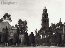 1926 CALIFORNIA San Diego Balboa Park Cityscape Architectur Photo Fine Art HOPPE