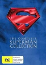 The Superman Collection (DVD, 2005, 4-Disc Set) VGC Pre-owned (D97)