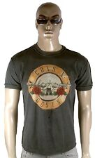 AMPLIFIED Offi.GUNS N'ROSES Drum Logo Rock Star ViP Vintage Löcher T-Shirt S 46