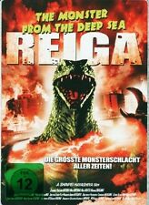 REIGA - THE MONSTER FROM THE DEEP SEA limited STEELBOOK Edition DVD GODZILLA Neu