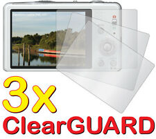 3x Anti-Glare LCD Screen Protector for Panasonic Lumix DMC-SZ7 DMC-ZS8 DMC-TZ18