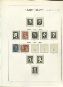 USA : Great classic collection - 1851 until 1903 - used