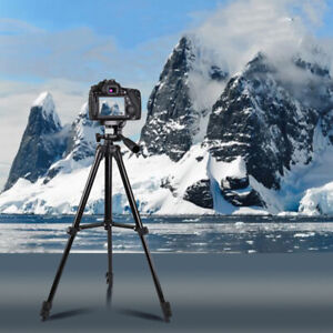 Professional Camera Tripod Stand w/ Remote for iPhone GoPro Canon Nikon DSLR 2H