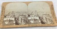 ANTIQUE STEREOVIEW PHOTOGRAPH WHITING VIEW CO DEWEY Jersey City New York