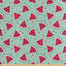 Frutta Tessuto al metro raso Pop Art Fette