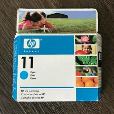 Genuine HP 11 Cyan Ink Cartridge - C4836A- New & Sealed, Exp June 2008