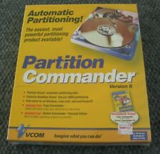 Automatic Partitioning Partition Commander Version 8 Windows XP Sealed NEW 2003