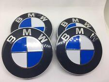4x Original BMW Nabendeckel 68mm Radnaben Felgendeckel Nabenkappen 36136783536