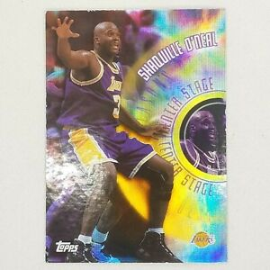 Shaquille O'Neal 1999 Topps Seasons Best Center Stage card # SB2