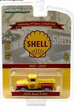 1:64 GreenLight 2016 *ANNIVERSARY COLLECTION 4* SHELL 1956 Ford F-100 Pickup NIP