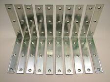 Right angle L bracket corner brace 150x24mm fixing support bracket, pack of 10