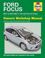 5632 Haynes Ford Focus Petrol & Diesel (2011 - 2014) 60 to 14 Workshop Manual
