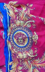 Authentic Versace Modal And Cashmere Scarf. 25 X 80 Inch.