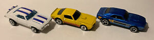 Hot Wheels 69 Pointaic Firebird T/A First Edition & 2 67 400 multipack Loose Lot
