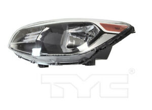 TYC Left Side Halogen Reflector Headlight Assembly For Kia Soul 2014-2019