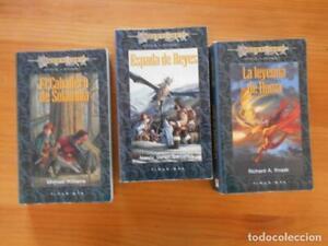 HEROES DE LA DRAGONLANCE COMPLETA: 1, 2 Y 3 - 3 LIBROS - TIMUN MAS (FK)