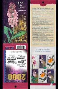 [62755] Canada 1999 Flora Flowers Blumen Orchids Booklet MNH