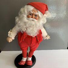 Danbury Mint Santa Clause At His Workbench Doll Iob Coa