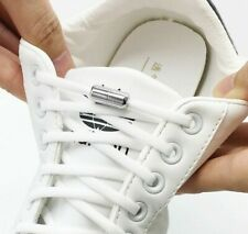 Elastic No Tie Shoelaces Semicircle Shoe Laces For Kids and Adult Sneakers Shoel