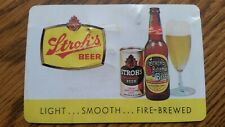 Vintage 1963 Stroh'S Beer Collectible Pocket Calendar