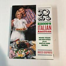 Rocco's Italian American Cookbook Dispirito HAND SIGNED First Edition