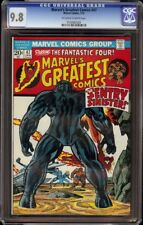 Marvel's Greatest Comics # 47 CGC 9.8 OW/W (Marvel 1974) Highest graded copy!