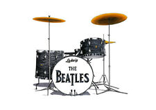 Ringo Starr's Ludwig Kit from the Shea Stadium concert  - POSTER PRINT A1 size