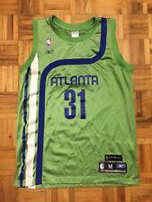 Jason Terry Atlanta Hawks Reebok Size Medium Jersey Throwback Green
